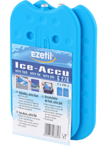Аккумулятор холода Ezetil Ice Akku G 270 (2шт. по 245 грамм)