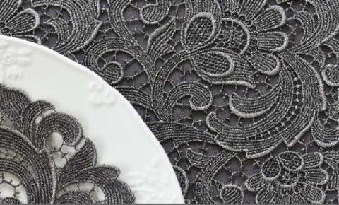 Элитная салфетка Paradise серебряная от Weissfee