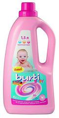 Жидкое средство для стирки детского белья BURTI baby, 1,5 л.