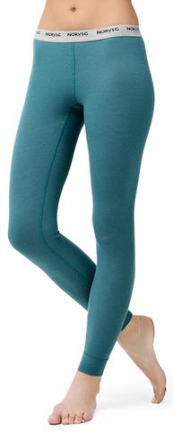Термокальсоны Norveg Soft Leggins для женщин (Легинсы) голубые