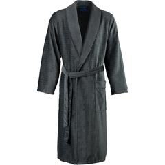 Элитный халат велюровый 1639 антрацит от Joop! - Cawo