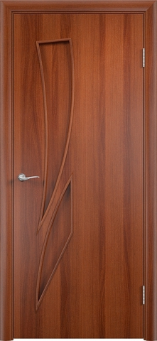 Дверь Верда C-2, цвет итальянский орех, глухая