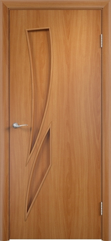 Дверь Верда C-2, цвет миланский орех, глухая