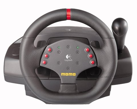 Руль LOGITECH MOMO Racing Force Feedback Wheel УЦЕНКА