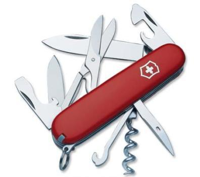 Швейцарский нож Victorinox Climber красный (1.3703)