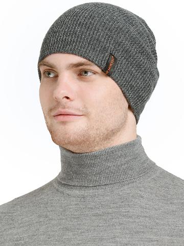 Шапка с шерстью мериноса Norveg мужская