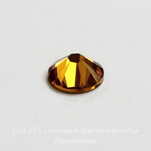 2028/2058 Стразы Сваровски холодной фиксации Topaz ss12 (3,0-3,2 мм), 12 штук ()