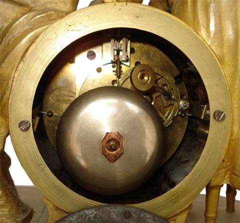 """Каминные часы """"Сюрприз"""" Арт. 19-0007"""