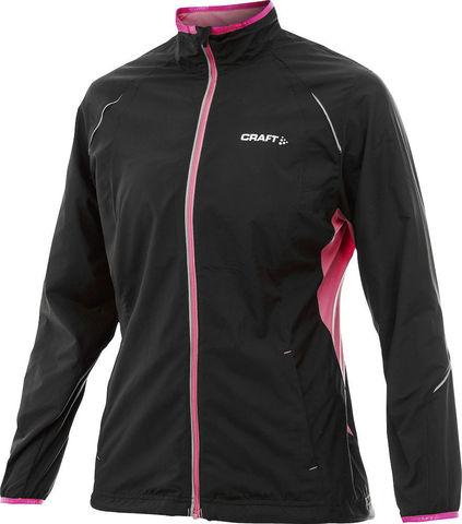 Куртка беговая женская Craft Active Run Black