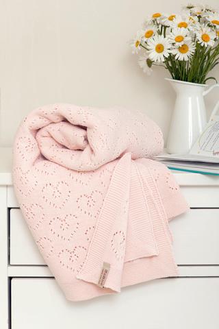Элитный плед детский Lux 4 розовый от Luxberry
