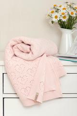 Плед детский 100х150 Luxberry Lux 4 розовый