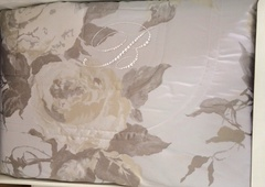 Элитное покрывало Milleluci бежевое от Blumarine