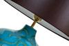 Элитная лампа настольная Marrocos голубая от Sporvil