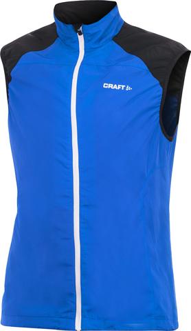 Жилет Craft Entry синий мужской