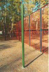 Стойки волейбольные уличные бетонируемые (комплект)