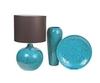 Элитная ваза декоративная напольная Marrocos голубая от Sporvil