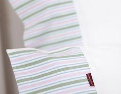 Постельное белье 1.5 спальное Luxberry Трикотаж Джерси зеленое