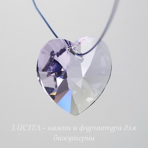 6228 Подвеска Сваровски Сердечко Violet (18х17,5 мм) ()