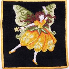 Полотенце детское 25x25 Feiler Fairy 161 желтое