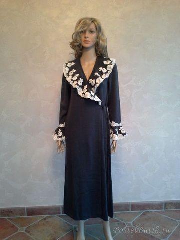 Элитный халат вязаный Inmaculada от Jaycris-Artesania