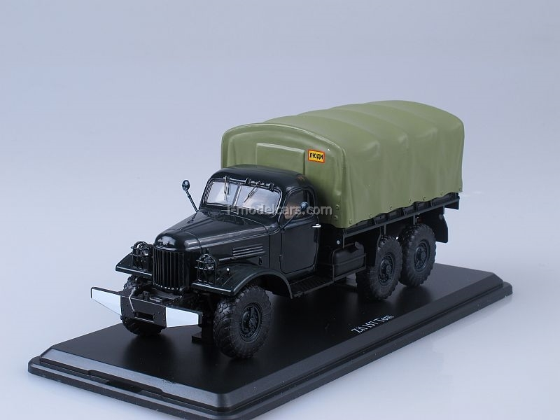 ZIL-157 board with awning 1:43 Start Scale Models (SSM)