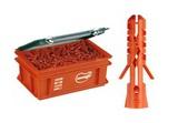 Дюбель нейлоновый Mungo MN диаметр 5 мм в пластиковом ящике (Mini-Box) 4000 шт