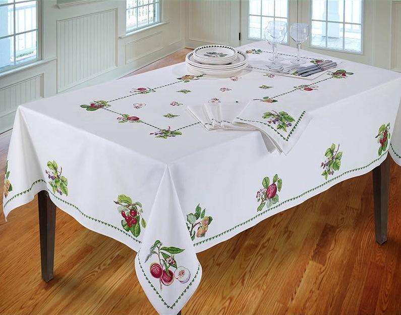 Скатерть 178 Avanti Pomona Table Cloth белая