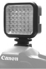 """Professonal Video Light LED-VL009 Накамерный свет с мощностью 3W ~ 12W с креплением """"горячий башмак"""""""