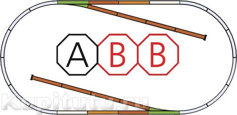PIKO 55310x2 Рельсовый набор ABB