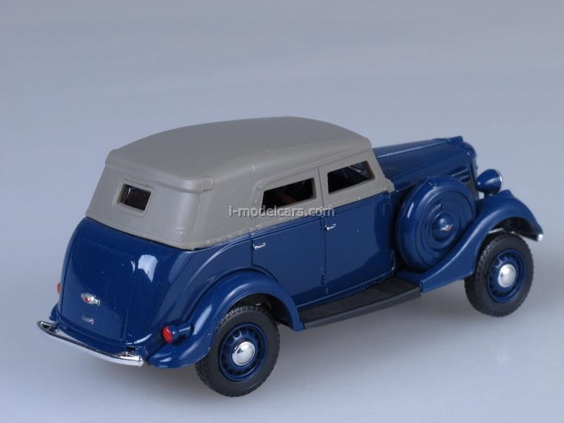 GAZ-61 Phaeton blue 1:43 Nash Avtoprom