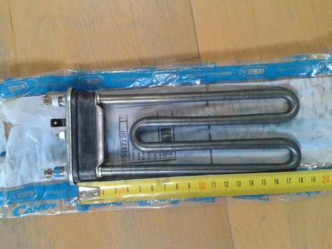 Тэн для стиральной машины Candy (Канди) 41009027-мощность 1640W, без отверстия, длина 180мм