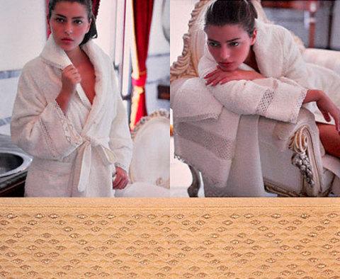 Набор полотенец 2 шт Timas Chloe слоновой кости