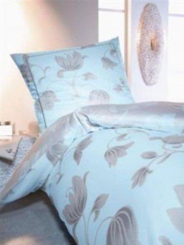 Элитная наволочка Raphael голубая от Elegante