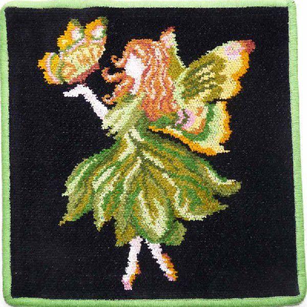 Полотенца Полотенце детское 25x25 Feiler Fairy 195 зеленое elitnaya-salfetka-shenillovaya-detskaya-fairy-195-zelenaya-ot-feiler-germaniya.jpg
