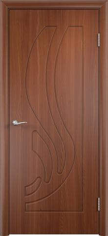 Дверь Верда Лиана, цвет итальянский орех, глухая