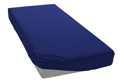 Элитная простыня трикотажная 8000 синяя от Elegante