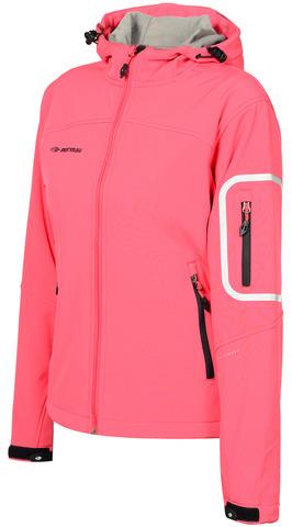 Лыжная утепленная куртка Mormaii Red женская