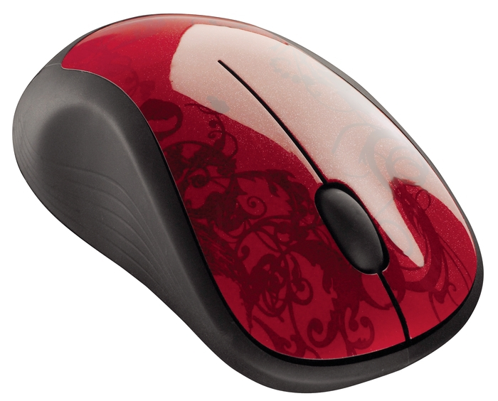 LOGITECH M310 USB Red Tendrils