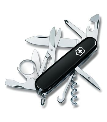 Швейцарский нож Victorinox Explorer черный (1.6705.3)