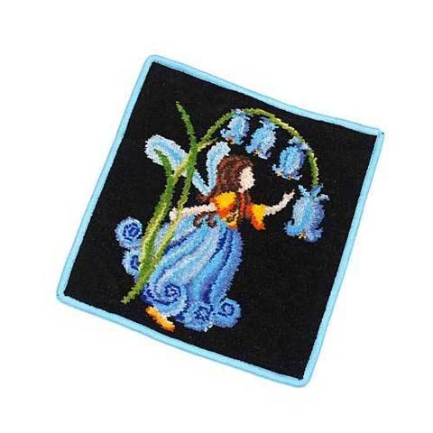 Полотенце детское 25x25 Feiler Fairy 226 голубое