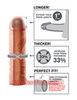 Удлиняющая насадка на пенис FX PEREFCT 1'' EXTENSION (17,7х4,4см)