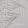 Комплект пинов-гвоздиков (цвет - серебро) 26х0,5 мм, примерно 1000 штук ()