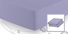 Элитная простыня трикотажная 8000 сиреневая от Elegante