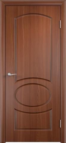 Дверь Верда Неаполь, цвет итальянский орех, глухая