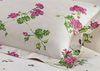 Постельное белье семейное Mirabello Gerani розовое