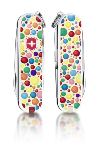 "Нож-брелок Victorinox Classic LE 2014, 58 мм, 7 функ, ""Color up your life""  (0.6223.L1403)"