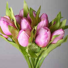 Букет тюльпанов фиолетовый из 9-ти шт., арт. 5568-4