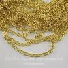 Цепь (цвет - золото) 3х2 мм, примерно 10 м ()