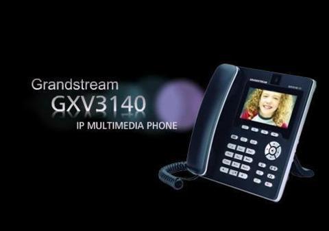 Grandstream GXV3140 - IP видеотелефон