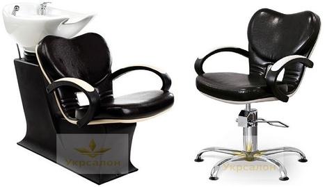 Комплект парикмахерской мебели Clio